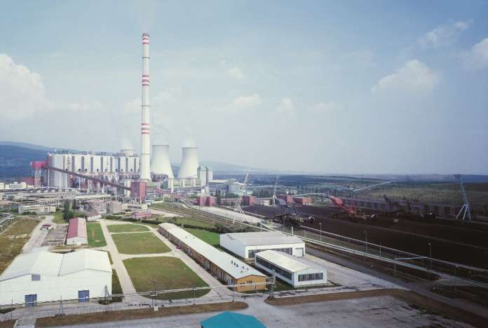 Prunéřov coal power plant