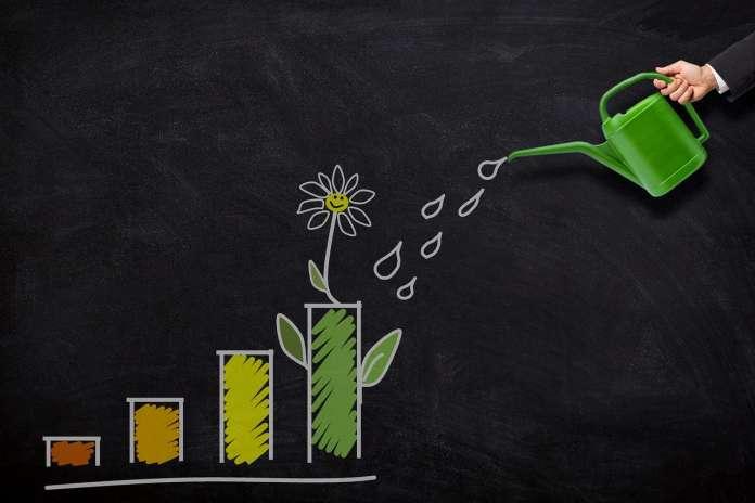 green finance concept