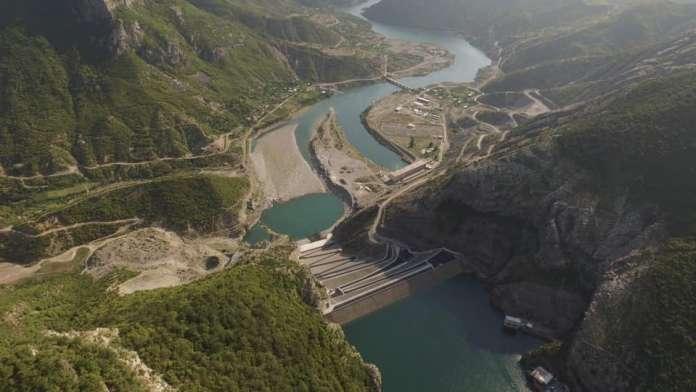 Fierza hydropower plant