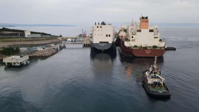 Qatari LNG cargo
