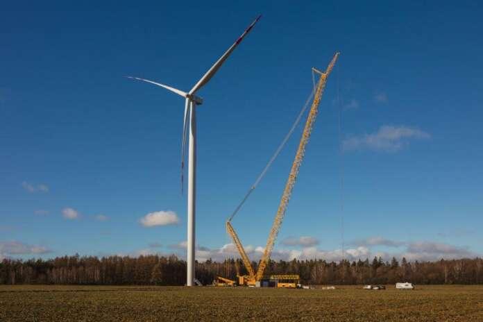 Potęgowo wind farm