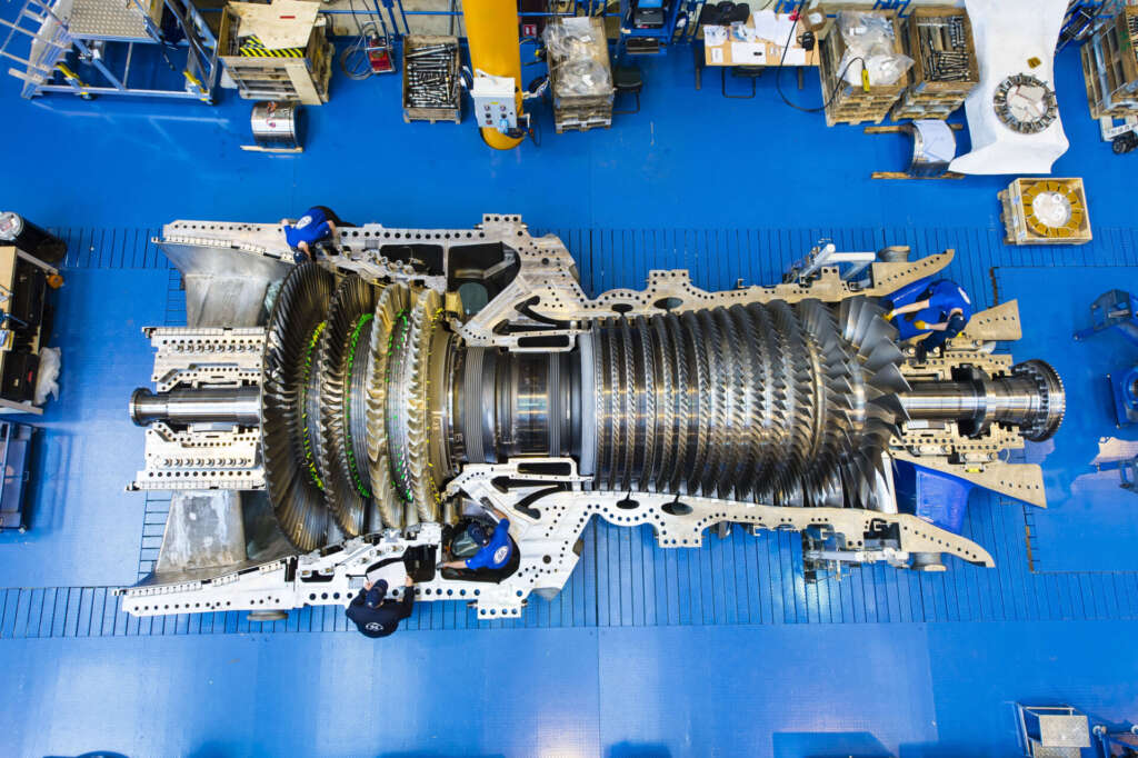 GE gas turbine